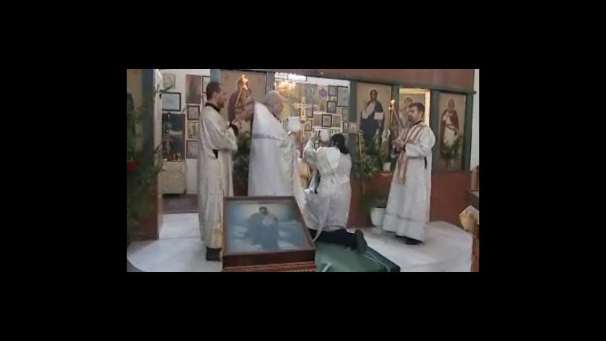 Video Pravoslavní slavili v Brně Zjevení Páně