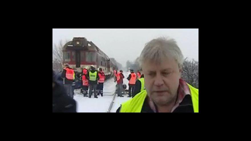 Video Drážní inspektor Libor Bruzl k nehodě