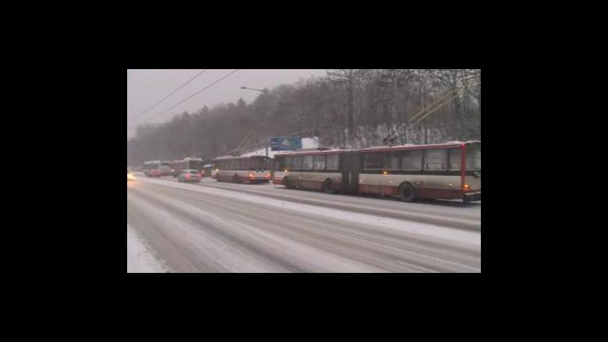 Video Silnice na jižní Moravě a ve Zlínském kraji už jsou sjízdné