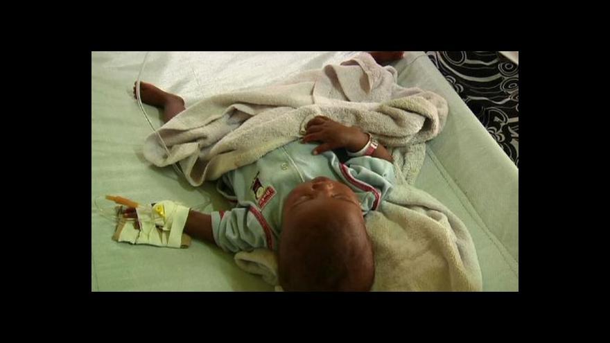 Video OSN čelí žalobě kvůli choleře na Haiti