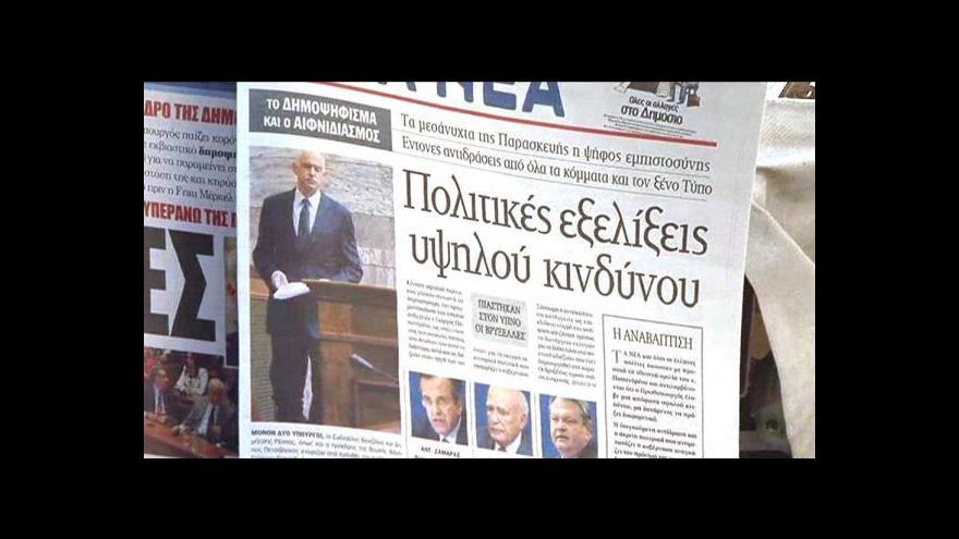 Video Pokračují jednání o řecké vládě
