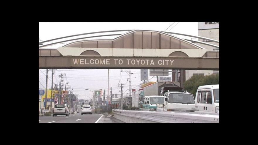 Video Problémy (nejen) Toyoty