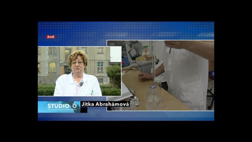 Video Rozhovor s Jitkou Abrahámovou