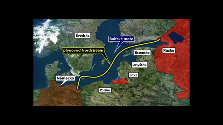 Video Nord Stream uveden do provozu