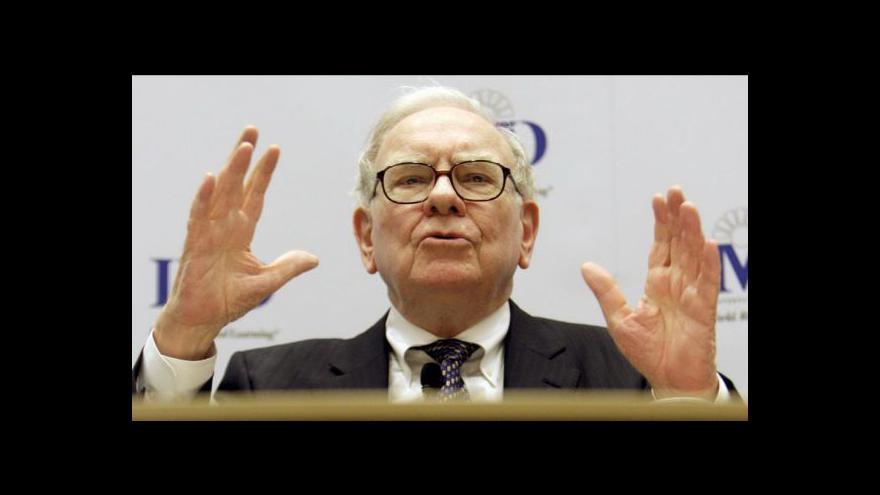Video Warren Buffett se dluhové krize nebojí