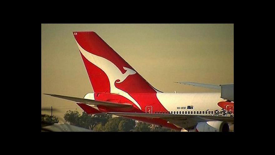 Video Omluva aerolinek Qantas