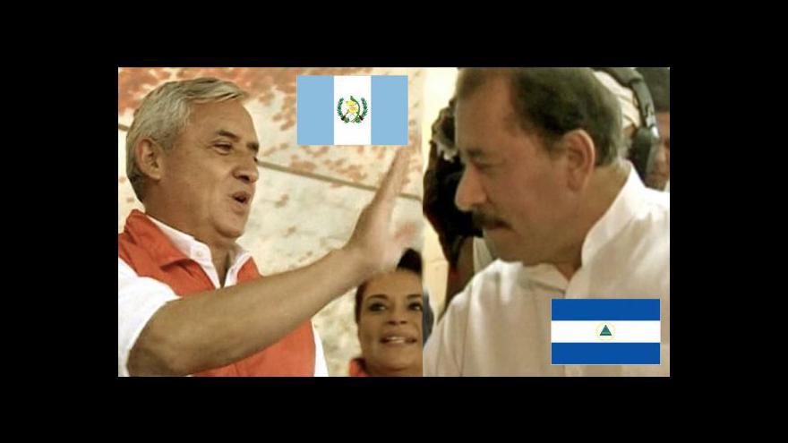 Video Guatemala a Nikaragua zvolily prezidenty