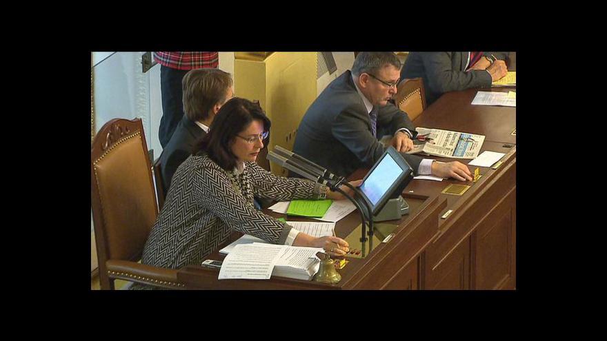 Video Koalice přehlasovala senátní veta reforem
