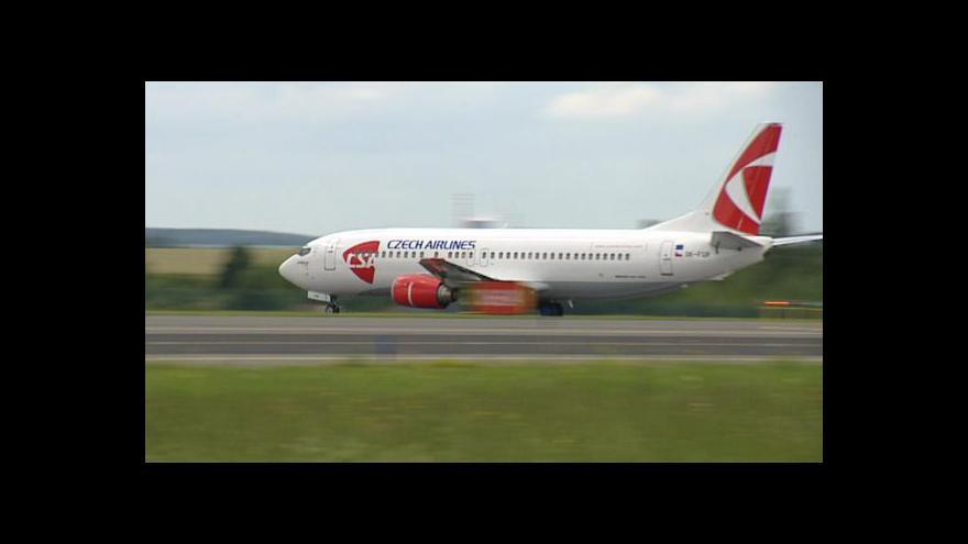 Video Vzdušný prostor nad Českem tématem Ekonomiky ČT24