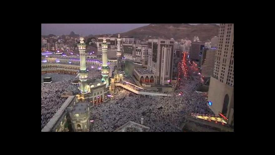 Video Muslimové míří do Mekky
