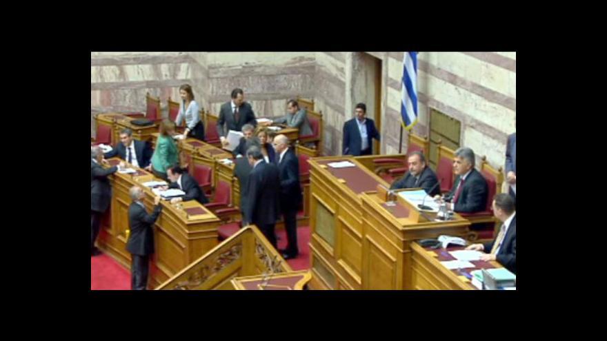 Video Řecká vláda dnes projde ohněm - hlasuje se o její důvěře