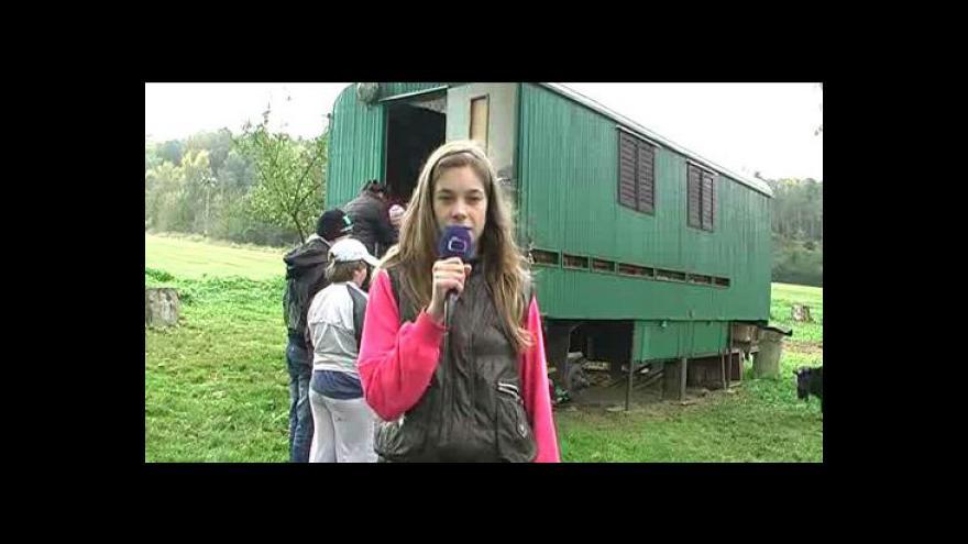 Video Reportáž Šárky Wintrové a Adély Smolakowové