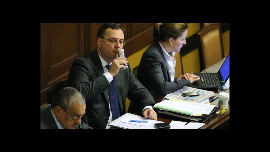 Video Sněmovna přerušila projednávání reforem ještě před půlnocí