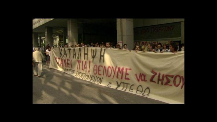 Video Řecko kvůli krizi zažívá nebývalý odliv mozků