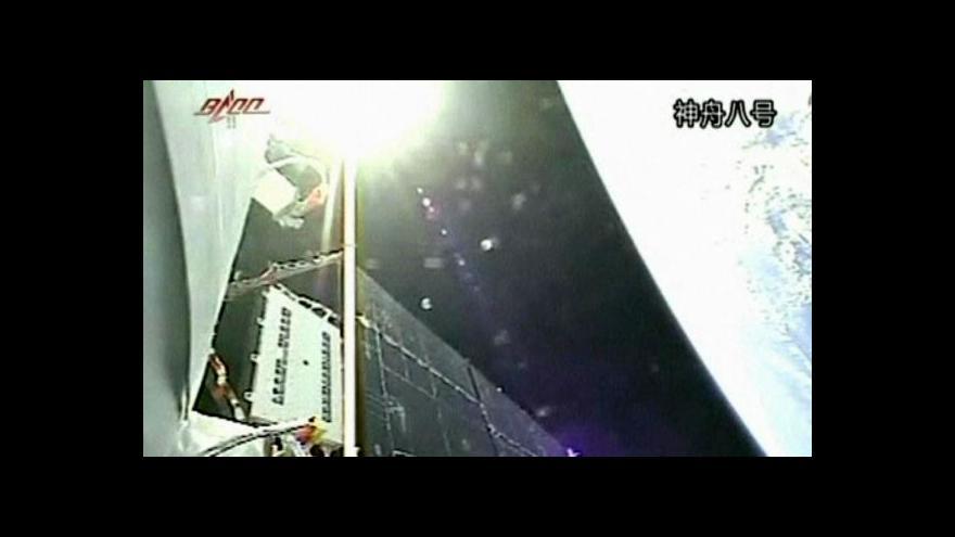 Video Čínská loď letí do kosmu