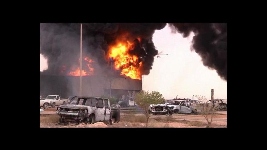 Video NATO opouští Libyi