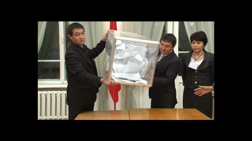 Video Novým prezidentem Kyrgyzstánu je Atambajev