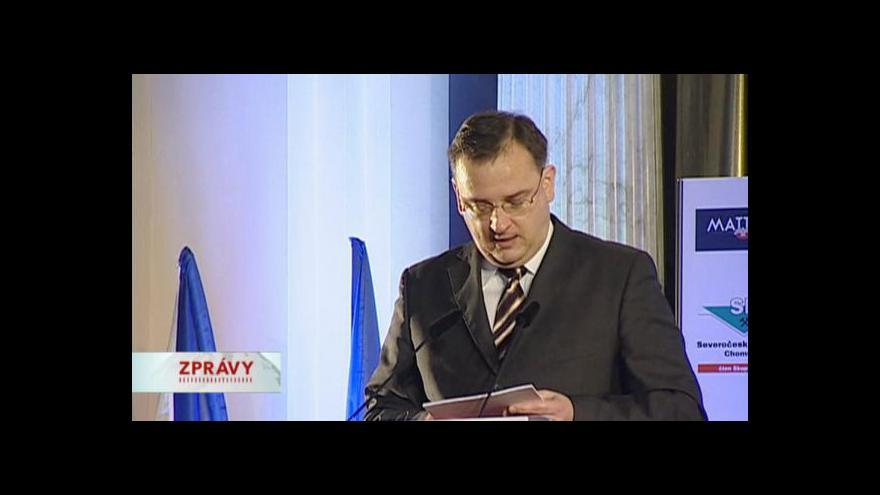 Video Projev premiéra Petra Nečase