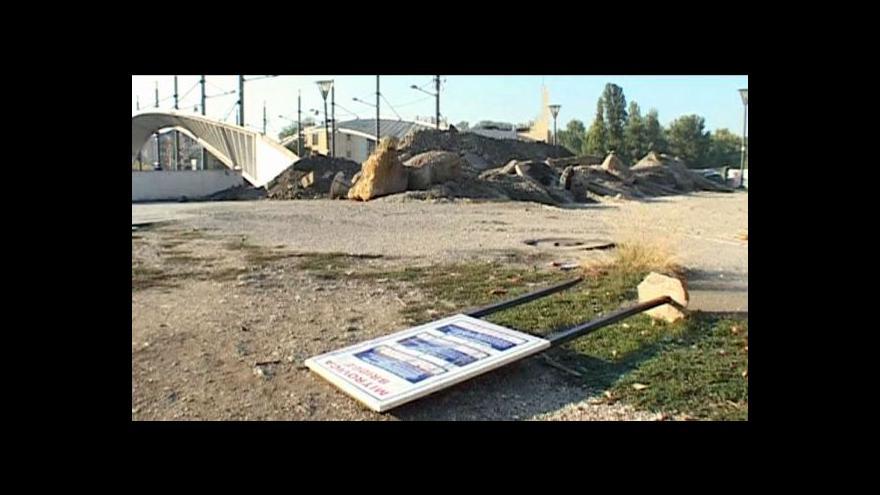 Video Vojáci KFOR rozbíjejí blokády