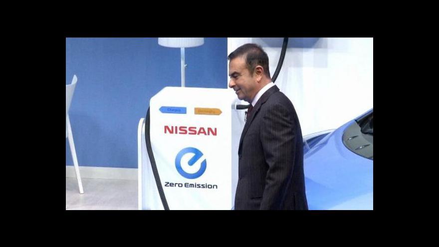 Video Nissan se chce stát elektrolídrem