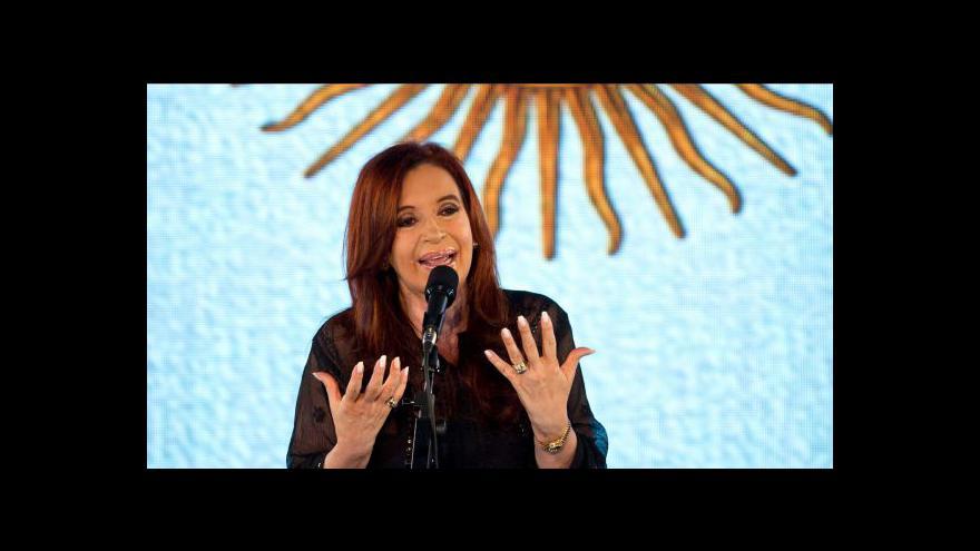 Video Fernándezová povede další čtyři roky Argentinu