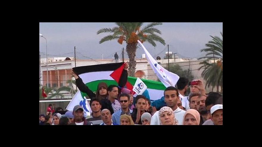 Video Tunisko volí parlament