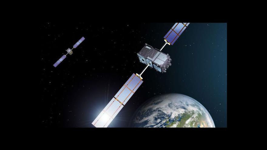 Video Start družice Galileo