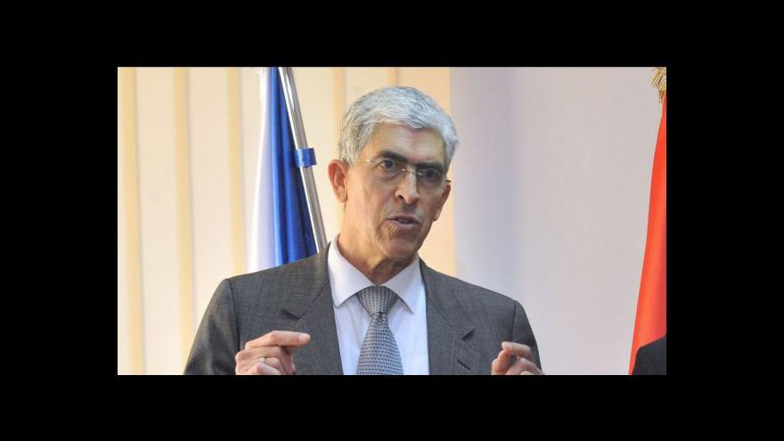 Video Projev libyjského chargé d'affaires v Česku