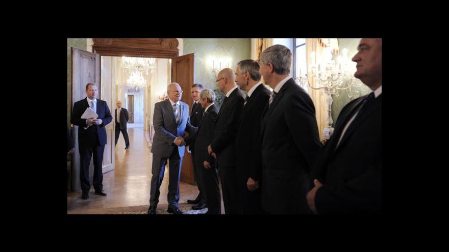 Video Prezident Ivan Gašparovič bude znovu jednat se šéfy parlamentních stran