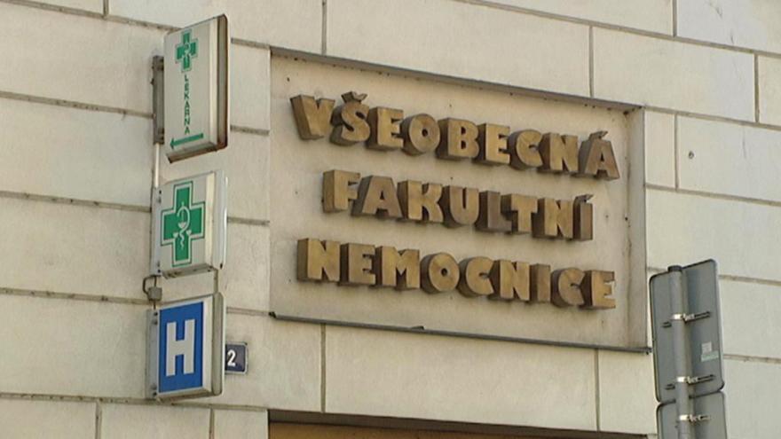 Video Tisková konference Všeobecné fakultní nemocnice v Praze