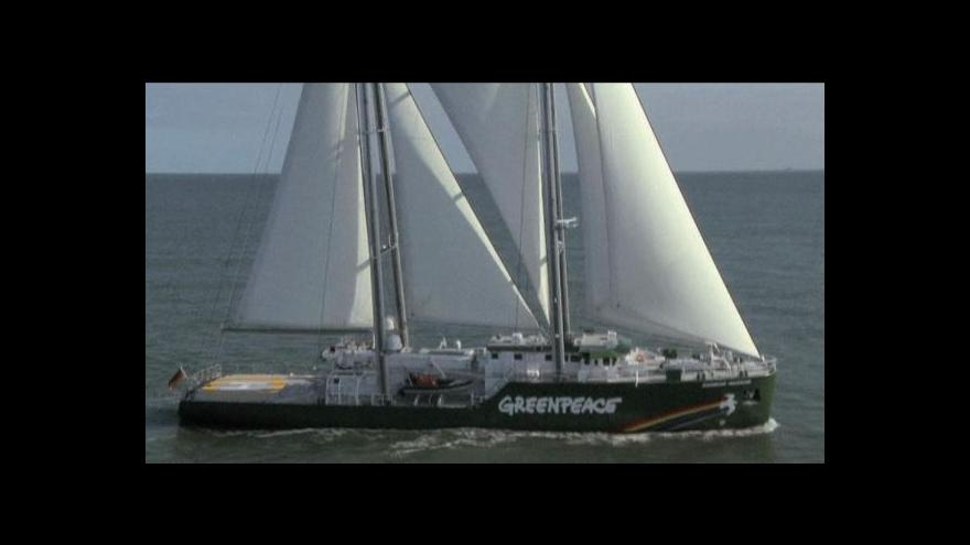 Video VIDEO: Nová loď greenpeace se představí v Hamburku