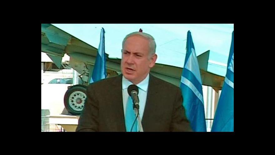 Video Projev Benjamina Netanjahua k propuštění Šalita