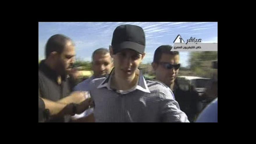 Video Polední události k výměně vězňů za Šalita