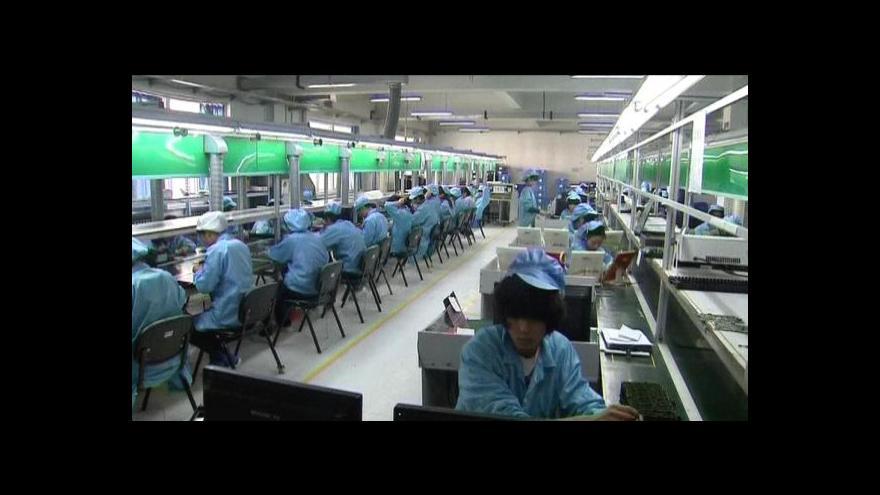 Video Čínská ekonomika zpomaluje