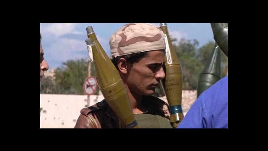 Video Povstalci osvobodili město Baní Valíd