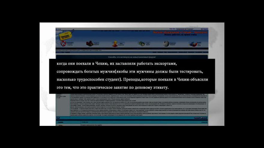 Video Reportáž Miroslava Karase a Pavly Kubálkové