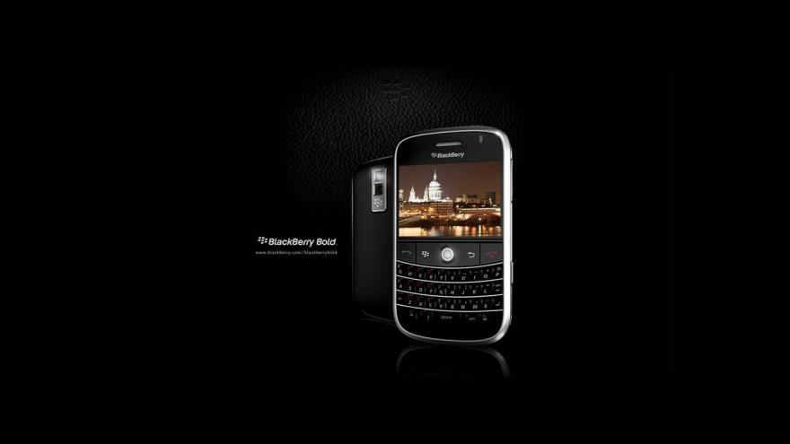 Video BlackBerry má problém