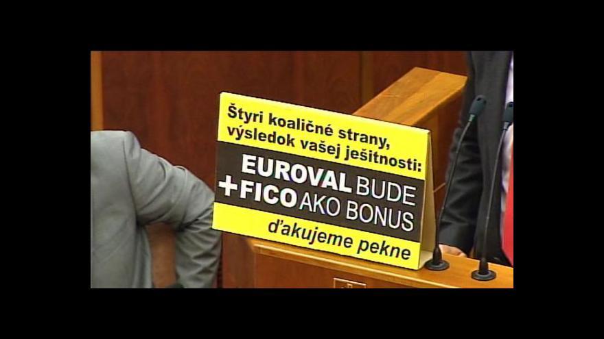 Video Slovensko schválilo euroval