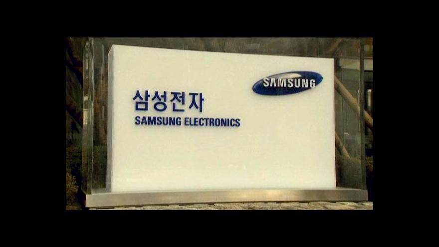 Video Patentová bitva Samsungu a Applu
