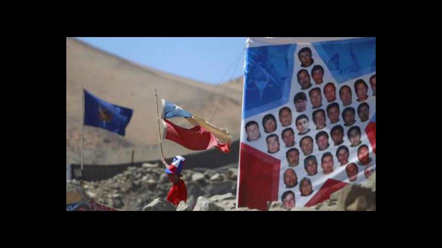 Video Světadíl vzpomínal na záchranu chilských horníků