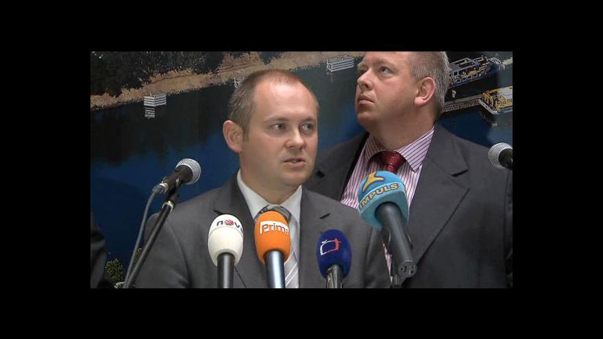 Video Brífink po jednání Dobeše se zástupci Asociace krajů