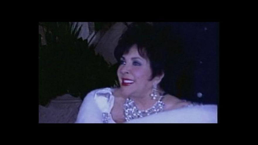 Video Šperky Elizabeth Taylorové v aukci