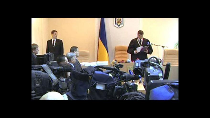 Video Tymošenková dostala 7 let vězení
