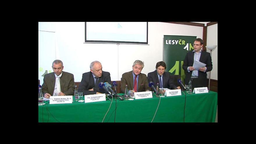 Video Brífink Lesů ČR k tendru na lesní práce