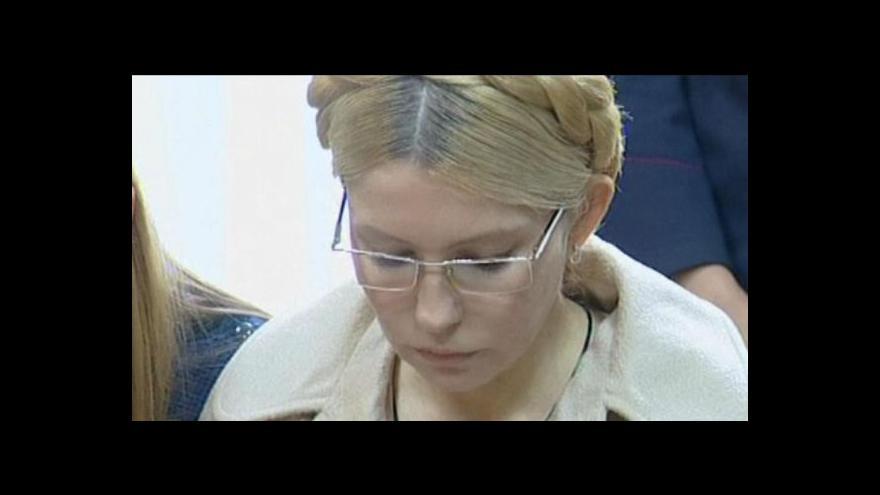 Video Události, komentáře k Tymošenkové