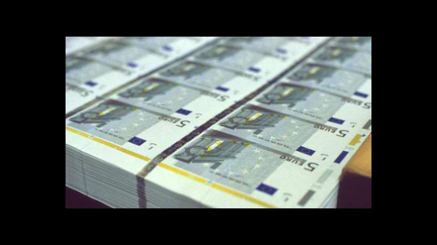 Video Problémy eurozóny trápí i banky