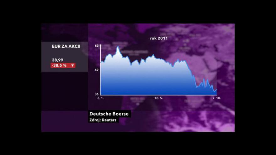 Video Spojení Deutsche Börse a NYSE Euronext