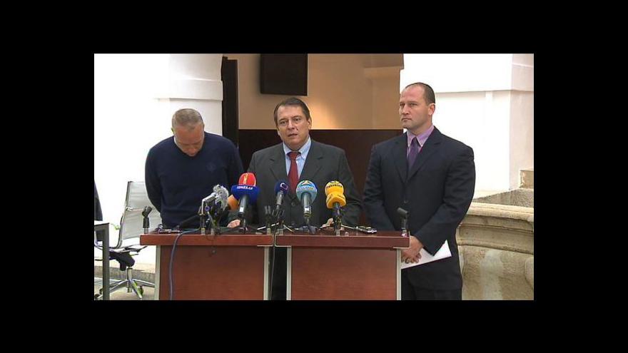 Video TK Jiřího Paroubka k odchodu z ČSSD