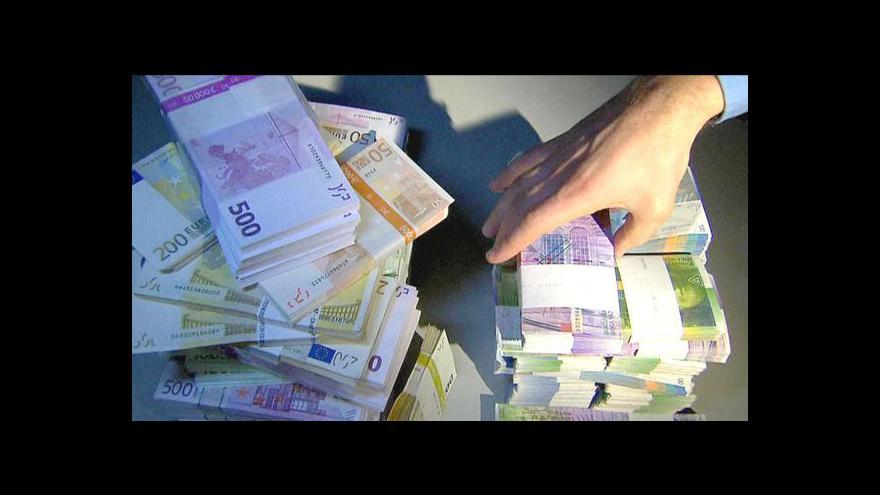 Video Reportáž: Falšování eur