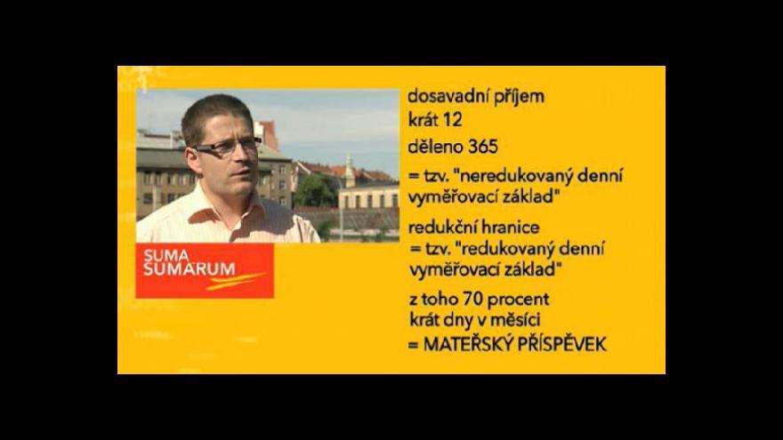 Video Suma sumárum z ČT24